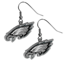 Siskiyou Buckle FDE065N Philadelphia Eagles Chrome Dangle Earrings