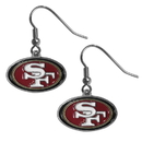 Siskiyou Buckle FDE075 San Francisco 49ers Dangle Earrings