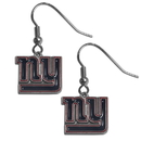 Siskiyou Buckle FDE090 New York Giants Dangle Earrings