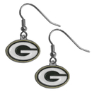 Siskiyou Buckle FDE115 Green Bay Packers Dangle Earrings