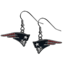Siskiyou Buckle FDE120 New England Patriots Dangle Earrings