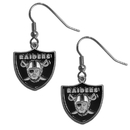 Siskiyou Buckle FDE125 Oakland Raiders Dangle Earrings
