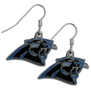 Siskiyou Buckle FDE170 Carolina Panthers Dangle Earrings