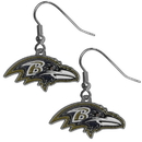 Siskiyou Buckle FDE180 Baltimore Ravens Dangle Earrings