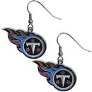 Siskiyou Buckle FDE185N Tennessee Titans Chrome Dangle Earrings