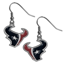 Siskiyou Buckle FDE190 Houston Texans Dangle Earrings