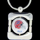 Siskiyou Buckle FEK015 Buffalo Bills NFL Keychain