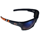 Siskiyou Buckle Chicago Bears Edge Wrap Sunglasses, FESG005-BL1