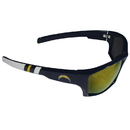Siskiyou Buckle FESG040-Y1 Los Angeles Chargers Edge Wrap Sunglasses