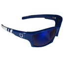 Siskiyou Buckle FESG050-BL1 Indianapolis Colts Edge Wrap Sunglasses