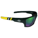 Siskiyou Buckle Green Bay Packers Edge Wrap Sunglasses, FESG115-GR1