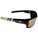 Siskiyou Buckle New Orleans Saints Edge Wrap Sunglasses, FESG150-BR1