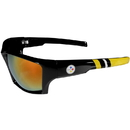 Siskiyou Buckle Pittsburgh Steelers Edge Wrap Sunglasses, FESG160-R1