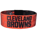 Siskiyou Buckle FEWB025 Cleveland Browns Stretch Bracelets