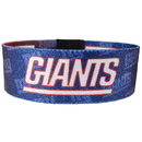 Siskiyou Buckle FEWB090 New York Giants Stretch Bracelets