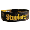 Siskiyou Buckle FEWB160 Pittsburgh Steelers Stretch Bracelets