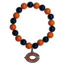 Siskiyou Buckle FFBB005 Chicago Bears Fan Bead Bracelet