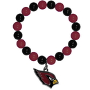 Siskiyou Buckle FFBB035 Arizona Cardinals Fan Bead Bracelet