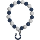 Siskiyou Buckle FFBB050 Indianapolis Colts Fan Bead Bracelet