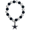 Siskiyou Buckle FFBB055 Dallas Cowboys Fan Bead Bracelet