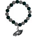 Siskiyou Buckle FFBB065 Philadelphia Eagles Fan Bead Bracelet