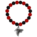 Siskiyou Buckle FFBB070 Atlanta Falcons Fan Bead Bracelet