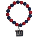 Siskiyou Buckle FFBB090 New York Giants Fan Bead Bracelet