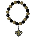 Siskiyou Buckle FFBB150 New Orleans Saints Fan Bead Bracelet