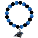 Siskiyou Buckle FFBB170 Carolina Panthers Fan Bead Bracelet