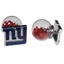 Siskiyou Buckle New York Giants Front/Back Earrings, FFBE090