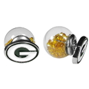 Siskiyou Buckle Green Bay Packers Front/Back Earrings, FFBE115