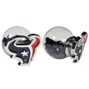 Siskiyou Buckle Houston Texans Front/Back Earrings, FFBE190