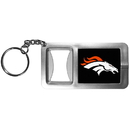 Siskiyou Buckle FFBK020 Denver Broncos Flashlight Key Chain with Bottle Opener