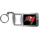 Siskiyou Buckle FFBK030 Tampa Bay Buccaneers Flashlight Key Chain with Bottle Opener