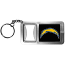 Siskiyou Buckle FFBK040 Los Angeles Chargers Flashlight Key Chain with Bottle Opener