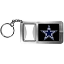 Siskiyou Buckle FFBK055 Dallas Cowboys Flashlight Key Chain with Bottle Opener