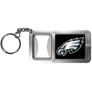 Siskiyou Buckle FFBK065 Philadelphia Eagles Flashlight Key Chain with Bottle Opener