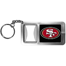 Siskiyou Buckle FFBK075 San Francisco 49ers Flashlight Key Chain with Bottle Opener