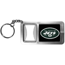 Siskiyou Buckle FFBK100 New York Jets Flashlight Key Chain with Bottle Opener