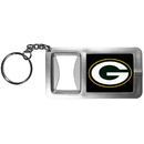 Siskiyou Buckle FFBK115 Green Bay Packers Flashlight Key Chain with Bottle Opener