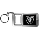 Siskiyou Buckle FFBK125 Oakland Raiders Flashlight Key Chain with Bottle Opener