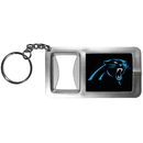 Siskiyou Buckle FFBK170 Carolina Panthers Flashlight Key Chain with Bottle Opener