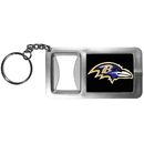 Siskiyou Buckle FFBK180 Baltimore Ravens Flashlight Key Chain with Bottle Opener