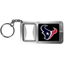 Siskiyou Buckle FFBK190 Houston Texans Flashlight Key Chain with Bottle Opener
