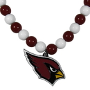 Siskiyou Buckle Arizona Cardinals Fan Bead Necklace, FFBN035