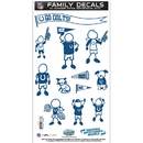 Siskiyou Buckle FFMD050 Indianapolis Colts Family Decal Set Medium