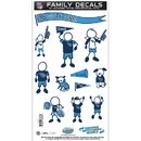 Siskiyou Buckle FFMD185 Tennessee Titans Family Decal Set Medium