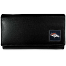 Siskiyou Buckle FFW020 Denver Broncos Leather Women's Wallet