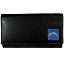 Siskiyou Buckle FFW040 San Diego Chargers Leather Women's Wallet