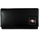 Siskiyou Buckle FFW075 San Francisco 49ers Leather Women's Wallet
